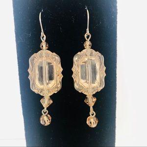 Vintage Lucite Dangling Earrings